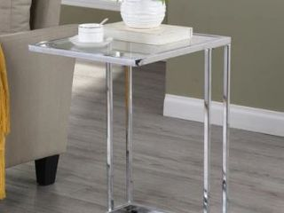 Gideon Glass Top C Table  Retail 93 49