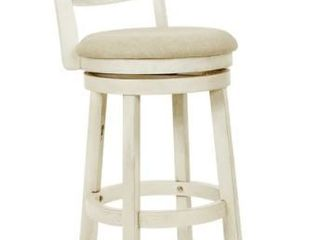 The Gray Barn McNiven 30 inch Swivel Stool with Solid Back   Retail 122 00