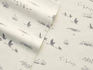 Eddie Bauer Geese Meadow King Sheet Set