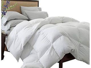 Grand Down All Season Down Alternative Full Queen Comforter  White