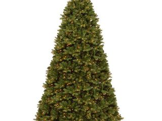 Newberry Green Spruce 12ft Tree with Clear lights  Tested  Works  Retail 1057 99