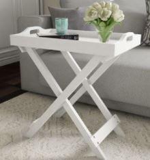 Carson Carrington Cullyhanna Wooden Contemporary Display Table
