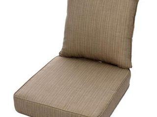 Sunbrella Indoor  Outdoor Deep Seating Cushion and Pillow Set   Retail 176 49