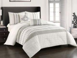 Grand Avenue Mallorca 5 piece King Comforter Set
