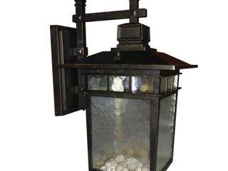 Cullen 1 light Exterior lighting Imperial Black Finish