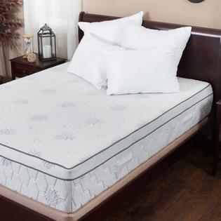Aloe Gel Memory Foam Pillow Top Queen Mattress by Christopher Knight Home  Retail 601 49