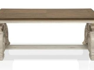 Furniture of America Roah Transitional Wood Coffee Table