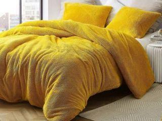 Coma Inducer Duvet King Cover   Teddy Bear   Ochre  Retail 83 99