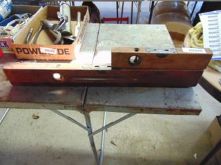 Pair of Stanley Wooden levels