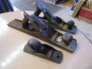 3 Wood Planes