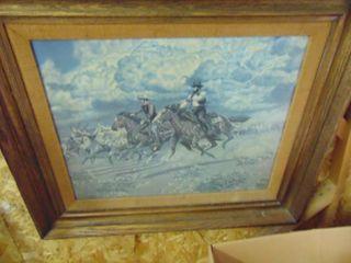 Grandee Cowboy Print