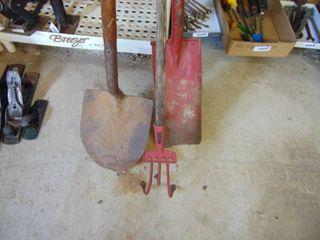 Shovel  Sharp Shooter  Cultivator
