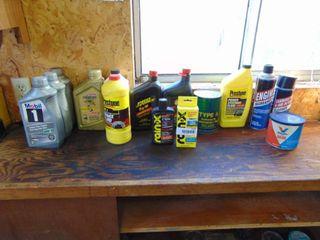 Oil  Power Stearing  Brake Fluids