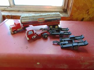 Buddy l  Texaco Trader with Tootsie Toy Truck