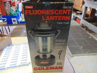 Coleman Fluorescent lantern   Works