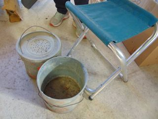 Bait Bucket and Stool
