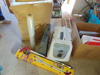 Smith Corona Typewriter  Roll of Foam and Plastic  litter box