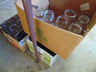 Boxes of Canning Jars   clean