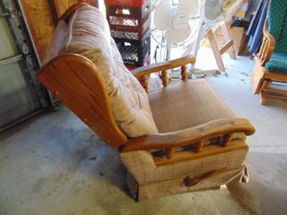 lazy Boy Rocker Recliner   Some Staining
