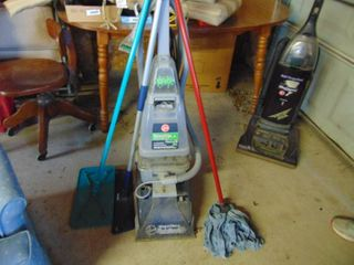 Hoover Carpet Cleaner and Mops