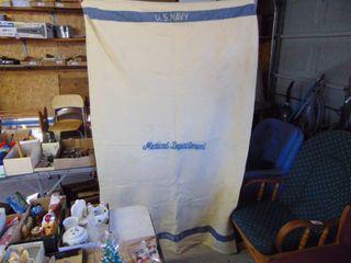 US Navy Medical Department Blanket