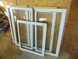 5 Wood Framed Windows   Perfect for Crafters
