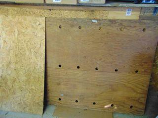 Various Sheets of Plywood
