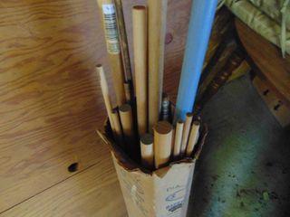 Box of Dowel Rods