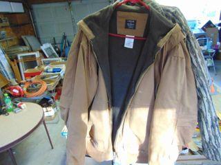 large Key Work Coat