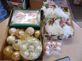 Victorian like Christmas Ornaments