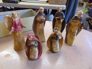 Resin Nativity Figures