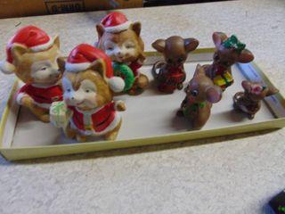 Christmas Cats and Josef Mice