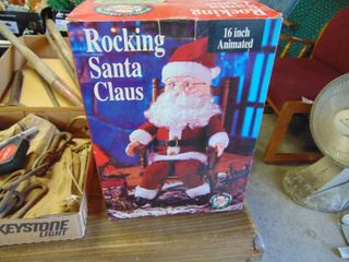 Rocking Santa   Plays Music but does Not Rock