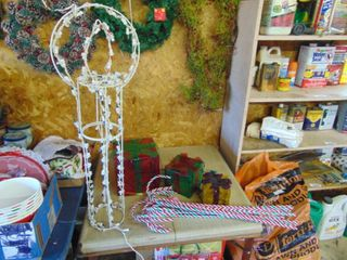 Candle  Packages  Candy Cane Yard Decor   Work