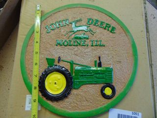 John Deere Stepping Stone in Box   Nice Condition