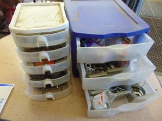 2 Organizers with Contents