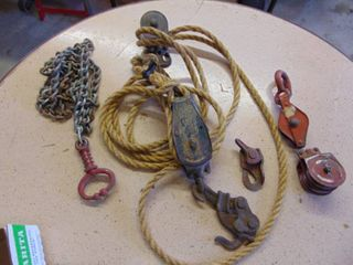Block and Tackle Pulleys  Bull lead