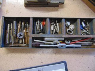 Assortment of Taps and Dies