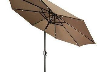 lED umbrella tan