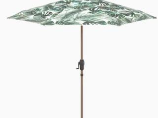 Allen   Roth Market 9 ft Auto tilt Round Patio Umbrella