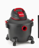 Shop vac 6 gallon 3 5 hp Portable Wet dry Shop Vacuum   Not Inspected