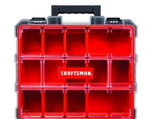 Craftsman Pro Organizers 12 compartment Plastic Small Parts Organizer