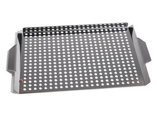 Outset QS71 Grill Grid with Handles   Stainless Steel 6 pieces