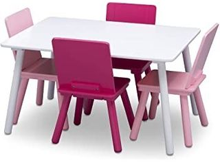 Delta Children 4 Chair   Table Set