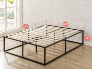 Zinus Joseph Metal Platforma Bed Frame 18 inches   Queen