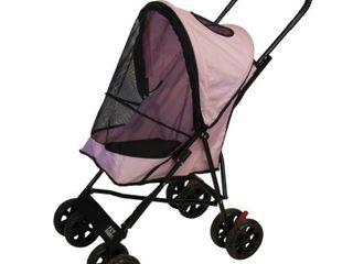 Pet Stroller Pet Gear Pink