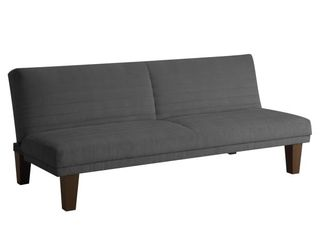 Delia Microsuede Sleeper Sofa Dark Gray   Room   Joy