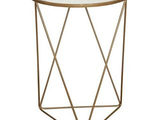 Homepop Metal Accent Table