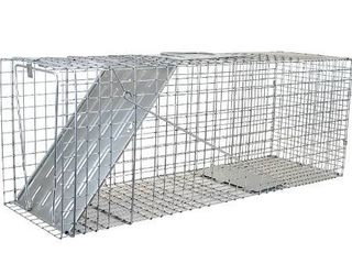 Havahart 1079 large 1 Door Humane Animal Trap for Raccoons  Cats  Groundhogs  Opossums