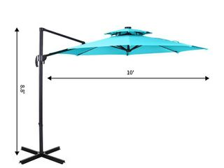 Offset Umbrella  Blue